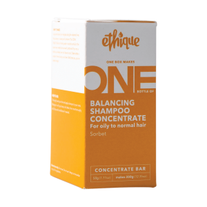 Ethique Balancing Shampoo Concentrate Bar (for normal to oily hair) – Sorbet