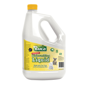 Euca Dishwashing Liquid Concentrate with Lemon Myrtle and Tea Tree Oils